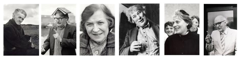 George Mackay Brown / Alasdair Gray / Jessie Kesson / Seamus Heaney / Joan Lingard / Ian Crichton Smith