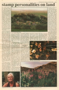 shetlandtimesgunnie' garden